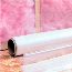 LAD 4420 4 MIL Construction & Agricultural Film Clear, 8 ft x 100 ft, 100' Per Roll