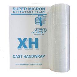 AEP XH-40612-WB Stiff Hand Wrap Stretch Film, Ultra-High Performance, SuperMicron, XH Series, 16 In