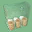 G-LG15-10820 Gusseted Poly Bags 10 X 8 X 20 1.5 Mil, 1000 Per Carton