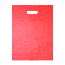 PSI 10X13 RED Plastic Merchandise Bags, High Density 10 X 13 Red 15mic, 1000 Per Carton