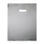 PSI 10X13 SLVR Plastic Merchandise Bags, High Density 10 X 13 Silver, 15mic, 1000 Per Carton