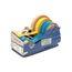 SL7346 Manual Multi Roll Tape Dispenser, 4 Wide