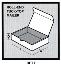 HP-M419 Corrugated Roll-End Tuck-Top Mailer White, 12 1/4 x 9 1/4 x 3, 50 Per Bundle