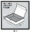 HP-M457 Corrugated Roll-End Tuck-Top Mailer White, 7 x 6 1/2 x 1 7/8, 50 Per Bundle