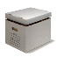 HP-RF2 Corrugated Self-Locking Record File Boxes with Lid White, 15 x 12 x 10, 25 Per Bundle