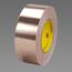 3M Conductive Copper Foil Tape 3313 Copper, 2 in x 18 yd 1.3 mil, 24 rolls per case