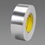 3M Conductive Aluminum Foil Tape Silver 3302 Silver, 2 in x 36 yd 3.6 mil Plastic Core, 24 rolls p