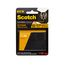 Scotch Outdoor Fasteners RF5731, 1 in x 3 in (25,4 mm x 76,2 mm), 2 Sets of Strips, Black
