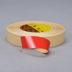 3m double coated tape red, 1 in x 60 yd 4.0 mil, 3m 9576r