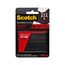 Scotch Extreme Fasteners RF6731, 1 in x 3 in (25,4 mm x 76,2 mm), 2 Sets of Strips, Black
