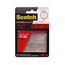 Scotch Extreme Fasteners RF6730B, 1 in x 3 in (25,4 mm x 76,2 mm) Clear, 2 Sets of Strips