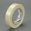 3M Filament Tape 8934, Clear, 12 mm x 330 m, 1 roll per case
