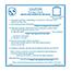 SCS 113LABEL - 4 in x 4 in, Moisture Sensitive Caution Label, IPC/JEDEC J-STD-020, 100 Labels per R