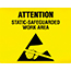 SCS ESDSIGN8.5X11 - ESD Awareness Sign, RS-471, 8.5 in x 11 in