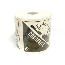 Label CORROSIVE Packing Labels D17 Gloss, Corrosive 8, 4 Inch x 4 Inch, 500 Per Roll on 1 Core